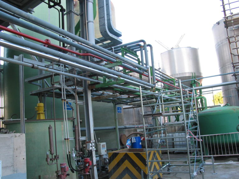 piping of thermal cycle