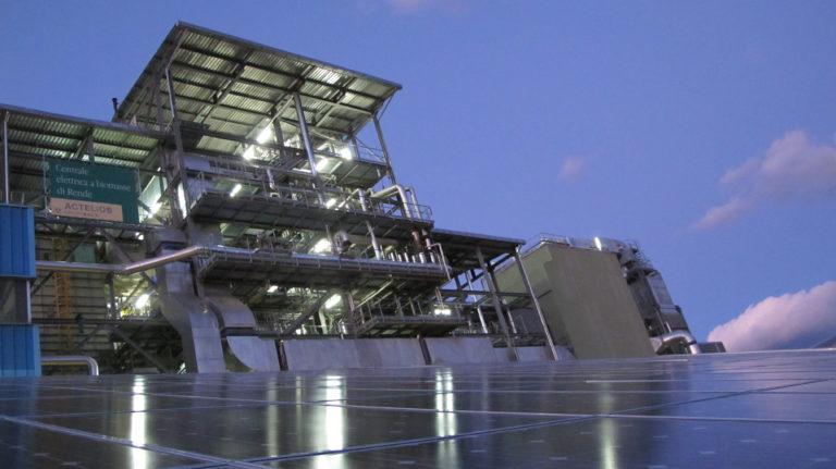 biomass power plant Rende